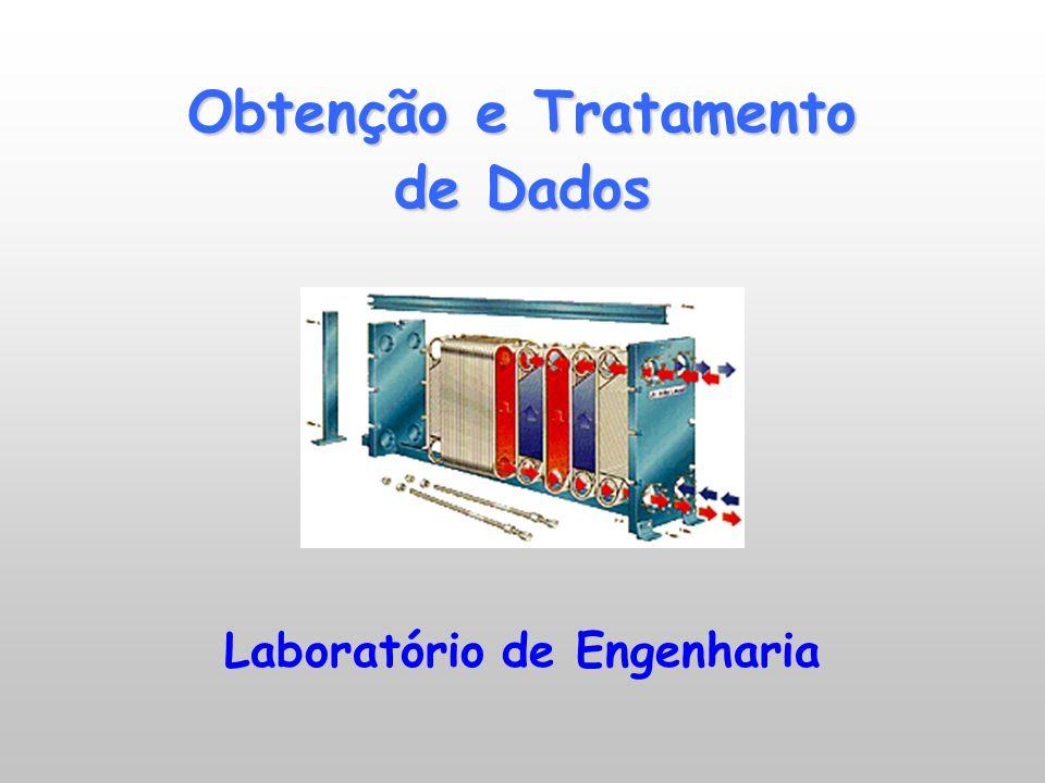Obtenção e Tratamento de Dados