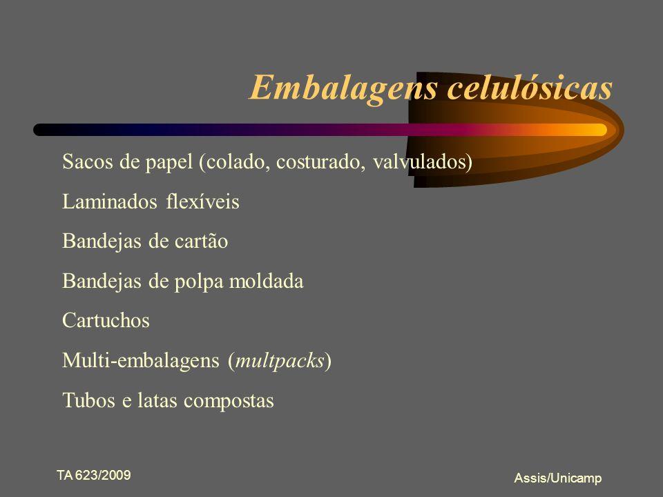 Embalagens celulósicas