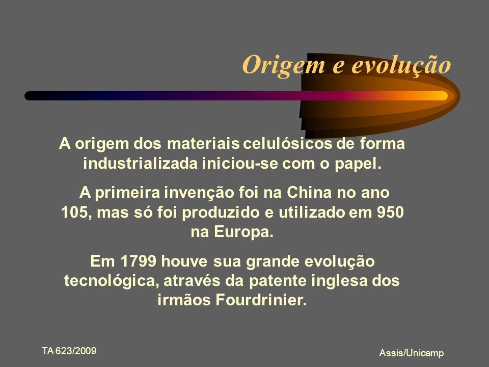 Origem e evolução A origem dos materiais celulósicos de forma industrializada iniciou-se com o papel.