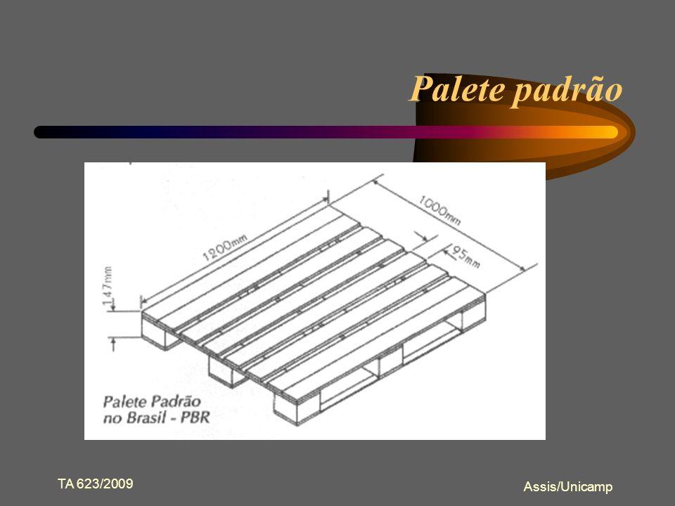 Palete padrão TA 623/2009 Assis/Unicamp