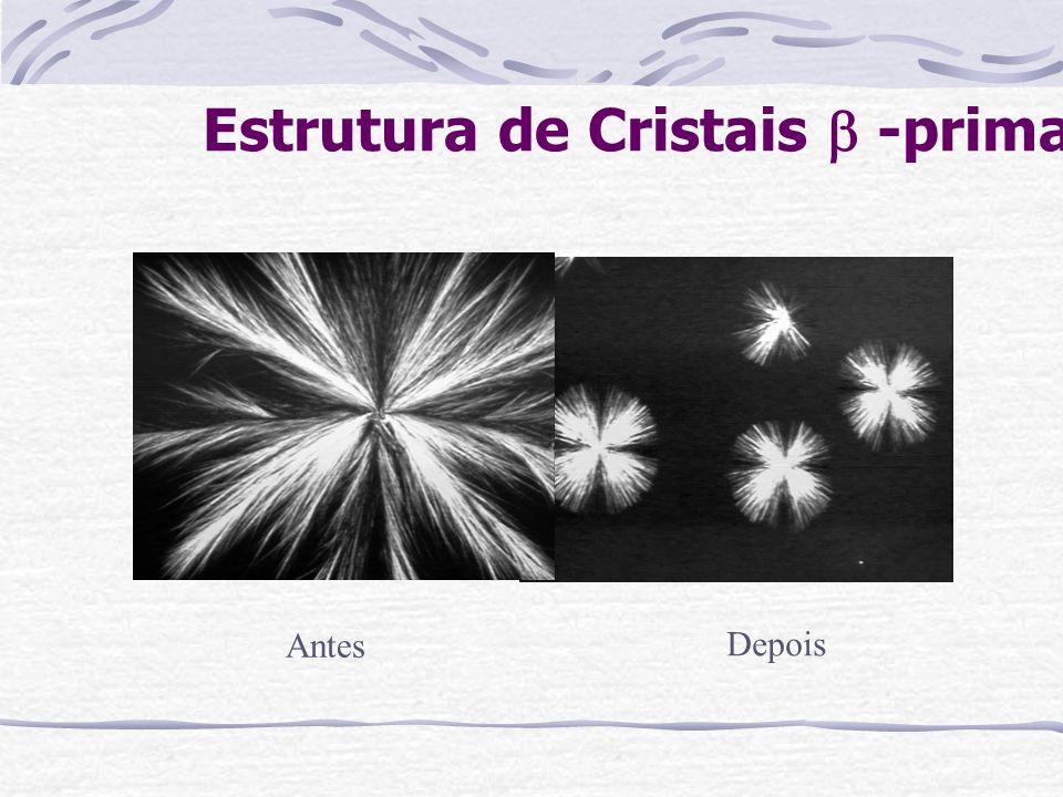 Estrutura de Cristais  -prima