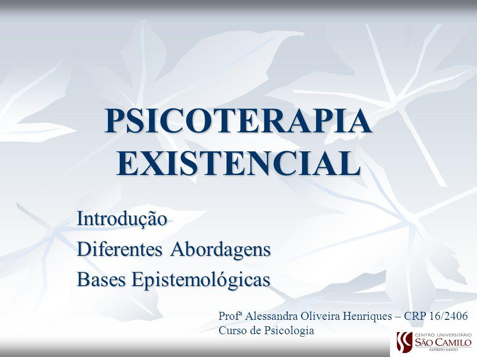 PSICOTERAPIA EXISTENCIAL
