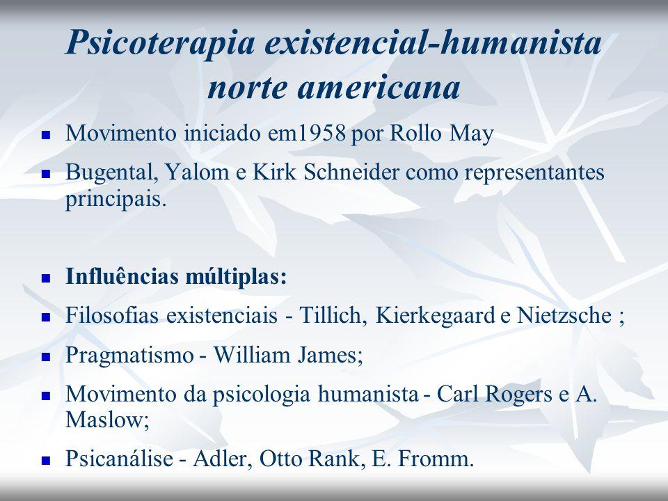 Psicoterapia existencial-humanista norte americana