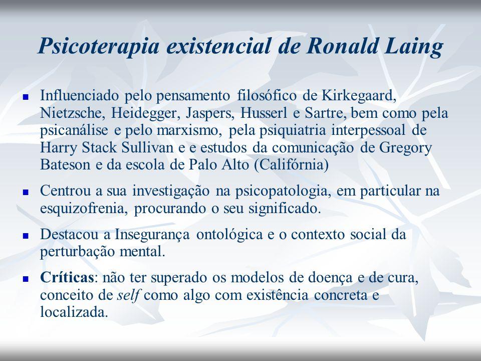 Psicoterapia existencial de Ronald Laing