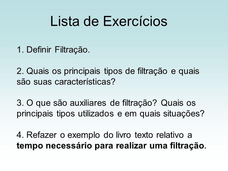 Lista de Exercícios