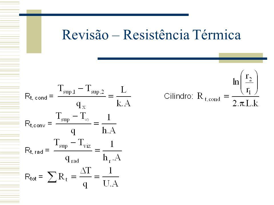 Revisão – Resistência Térmica