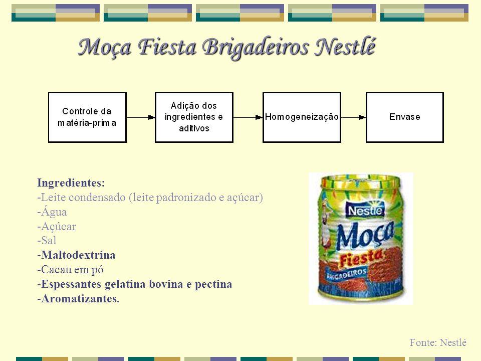 Moça Fiesta Brigadeiros Nestlé