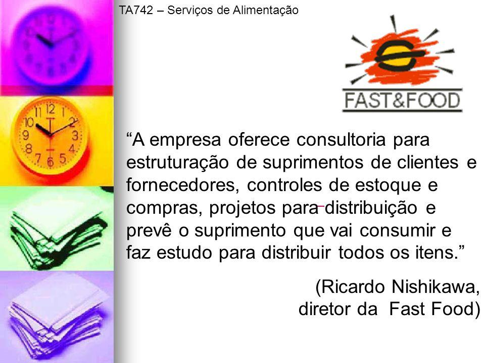 (Ricardo Nishikawa, diretor da Fast Food)