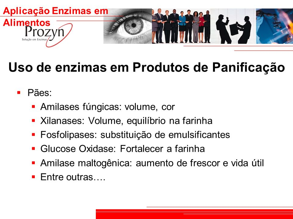Uso de enzimas em Produtos de Panificação