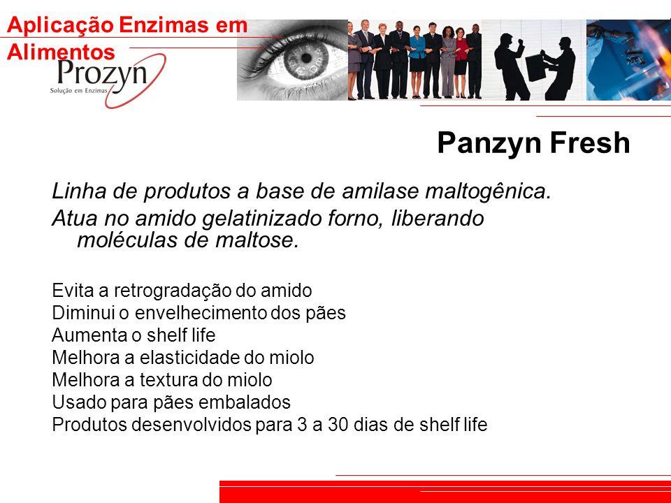 Panzyn Fresh Linha de produtos a base de amilase maltogênica.