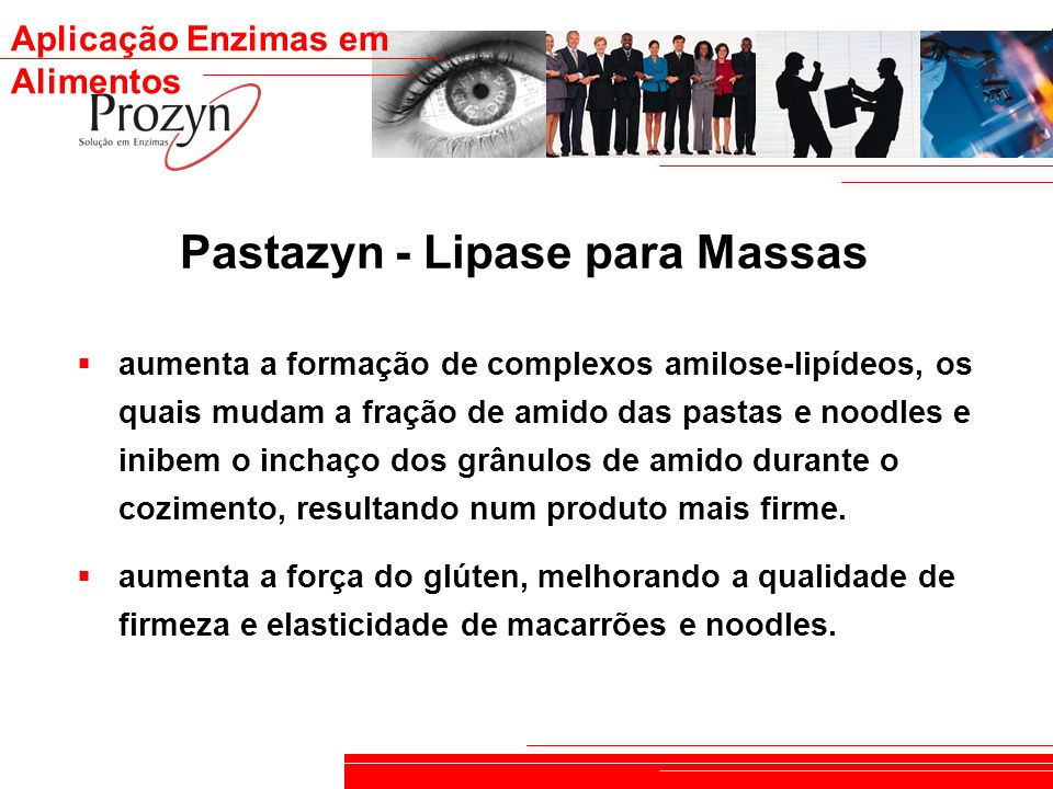 Pastazyn - Lipase para Massas