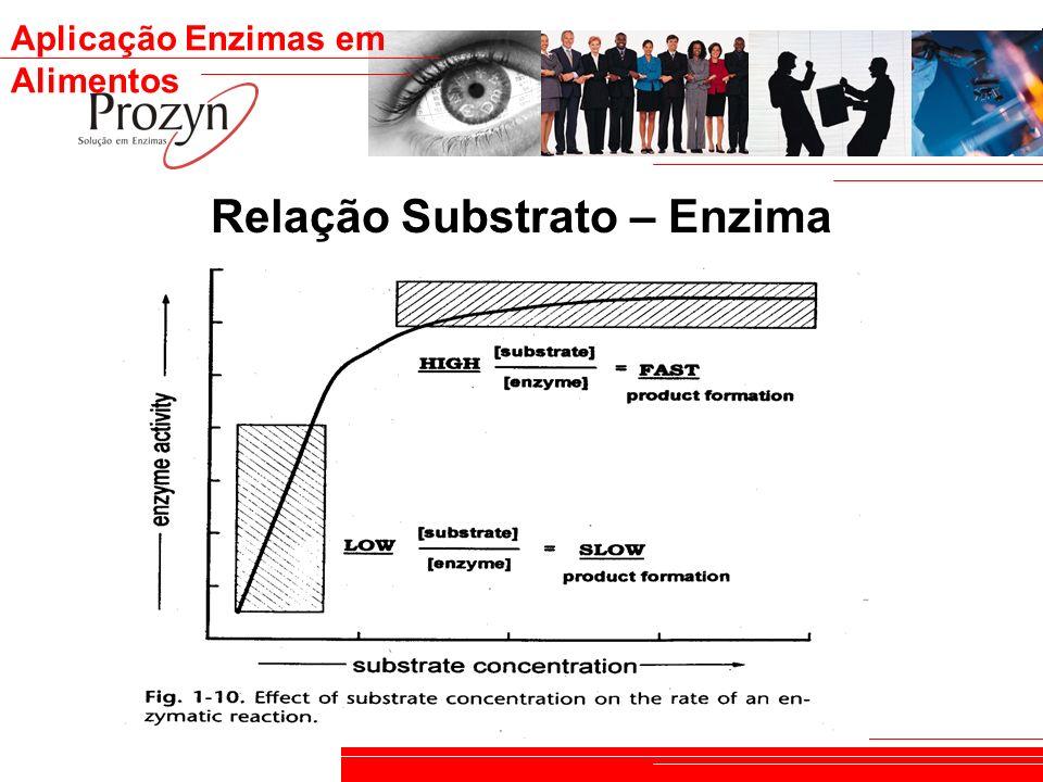 Relação Substrato – Enzima
