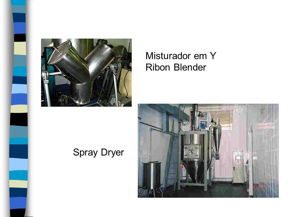 Equipamentos Misturador em Y Ribon Blender Spray Dryer