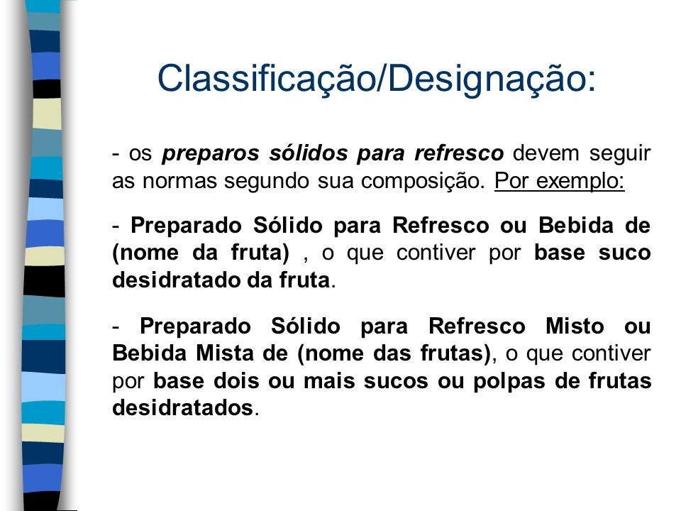 Classificação/Designação: