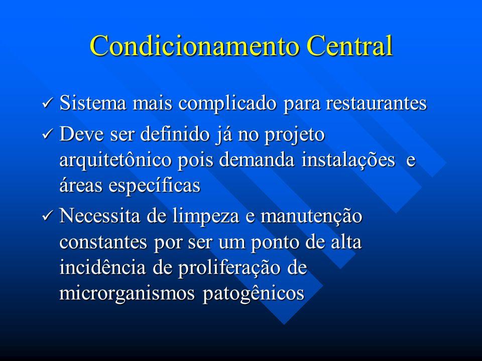 Condicionamento Central