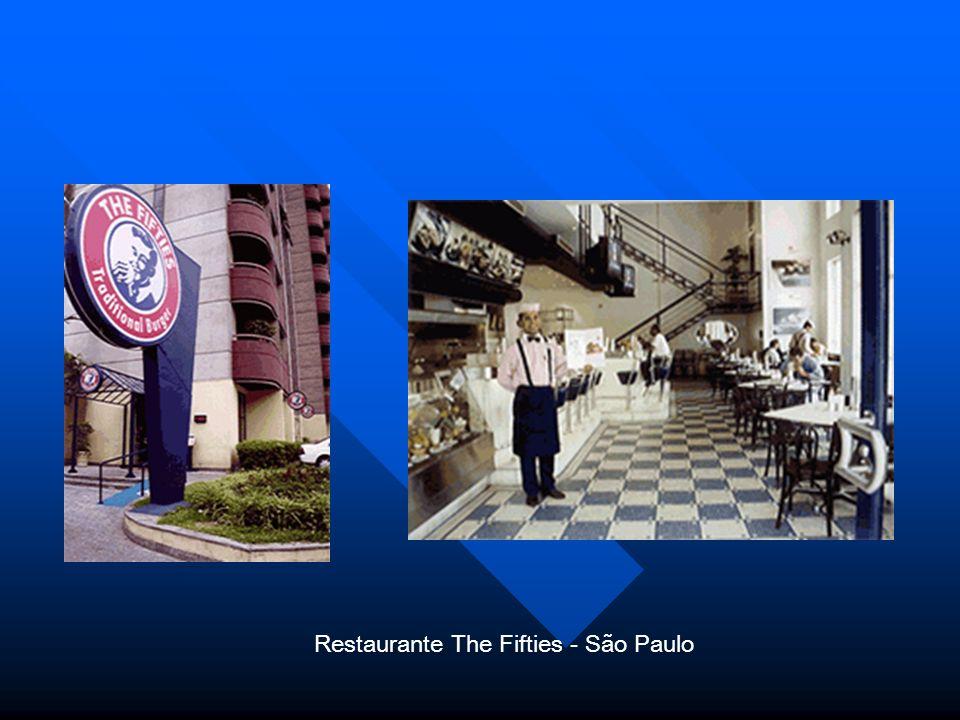 Restaurante The Fifties - São Paulo.
