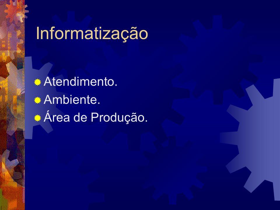 Informatização Atendimento. Ambiente. Área de Produção.