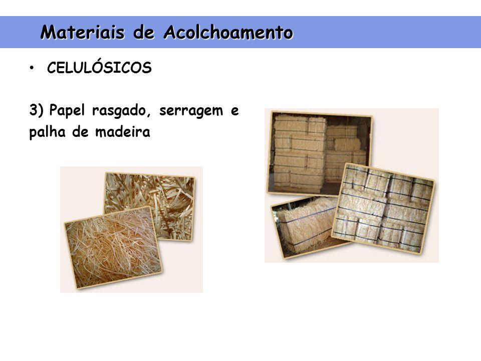 Materiais de Acolchoamento