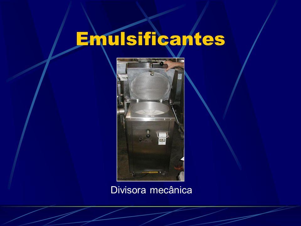 Emulsificantes Divisora mecânica