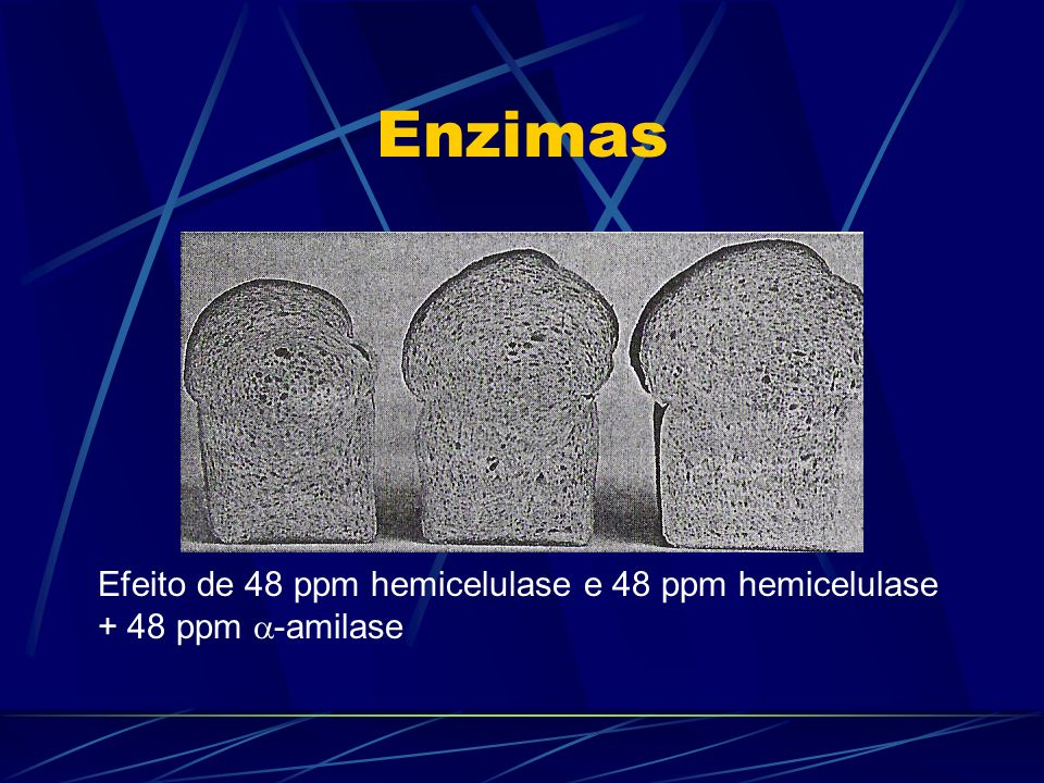 Enzimas Efeito de 48 ppm hemicelulase e 48 ppm hemicelulase