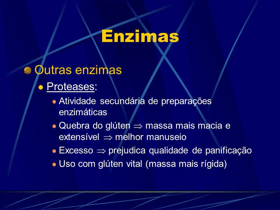 Enzimas Outras enzimas Proteases: