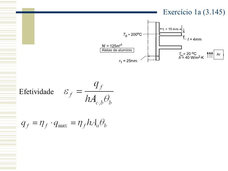 Exercício 1a (3.145) Efetividade