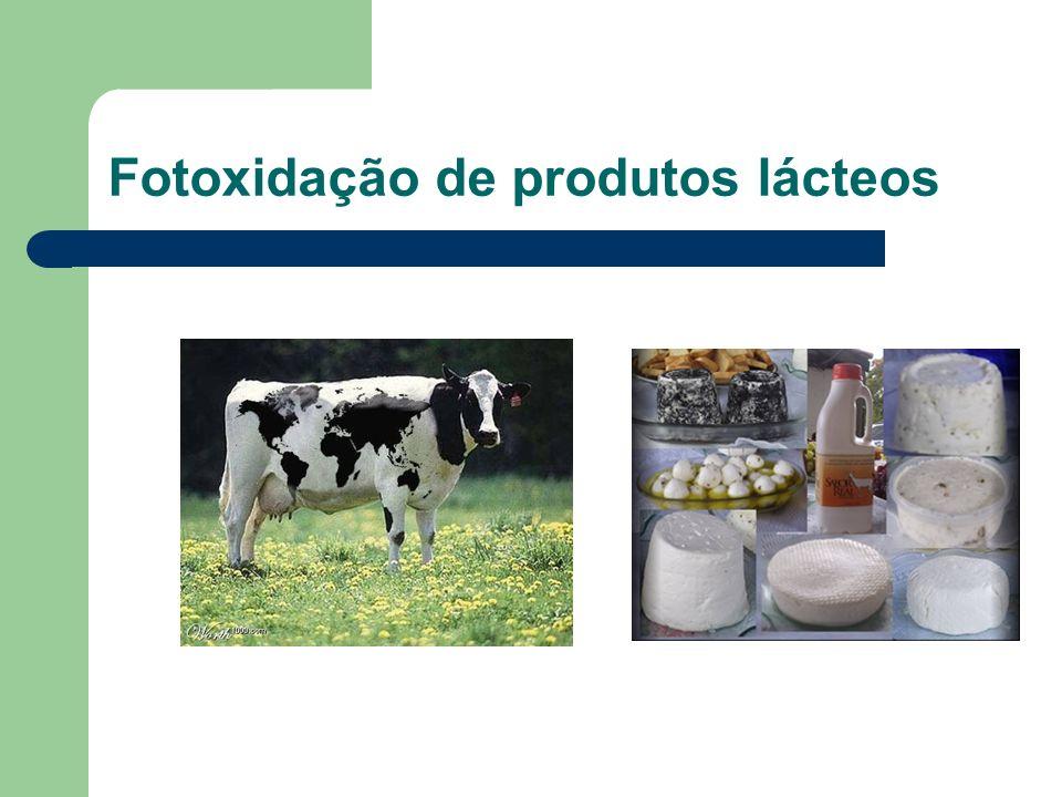 Fotoxidação de produtos lácteos