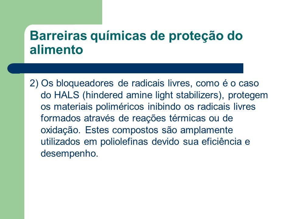 Barreiras químicas de proteção do alimento