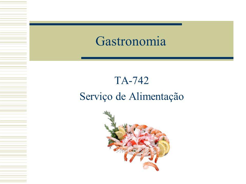 TA-742 Serviço de Alimentação