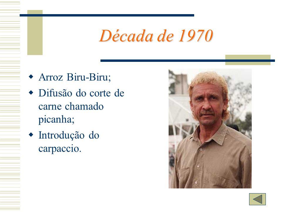 Década de 1970 Arroz Biru-Biru;
