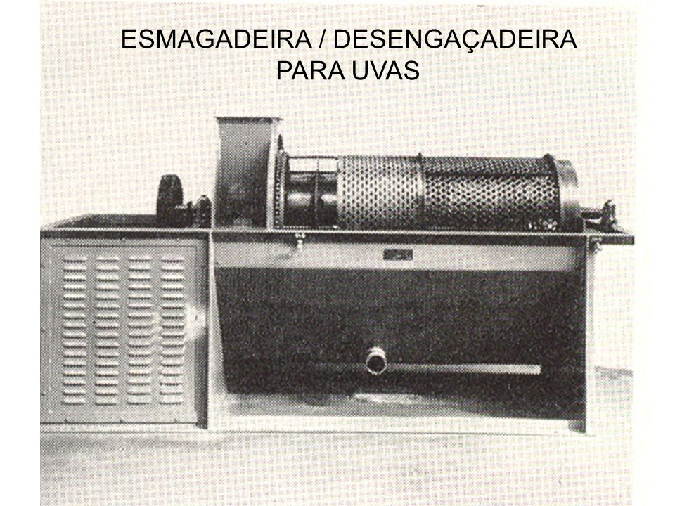 ESMAGADEIRA / DESENGAÇADEIRA PARA UVAS
