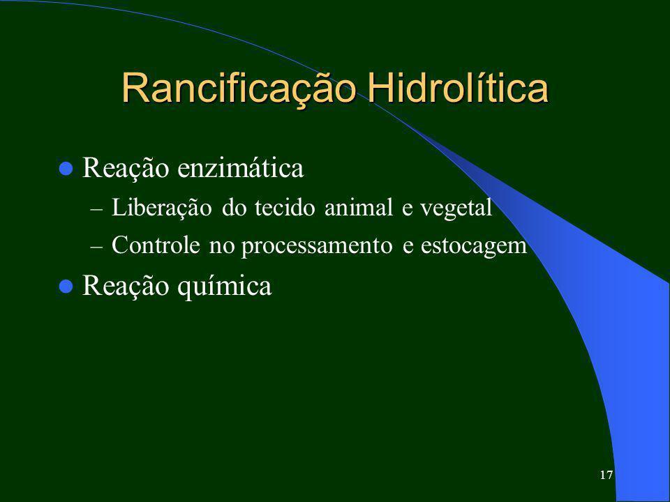 Rancificação Hidrolítica