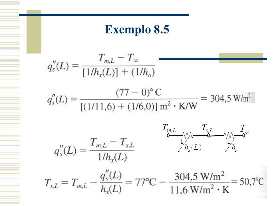 Exemplo 8.5 Tm,L Ts,L