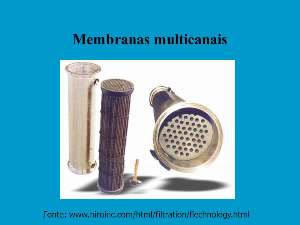 Membranas multicanais
