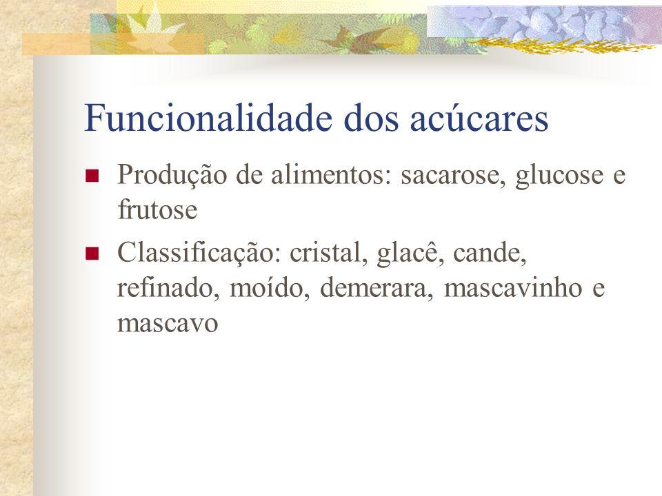 Funcionalidade dos acúcares