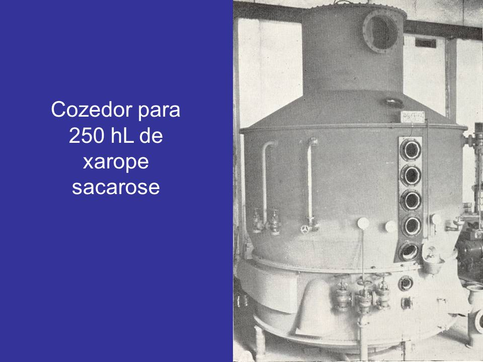 Cozedor para 250 hL de xarope sacarose