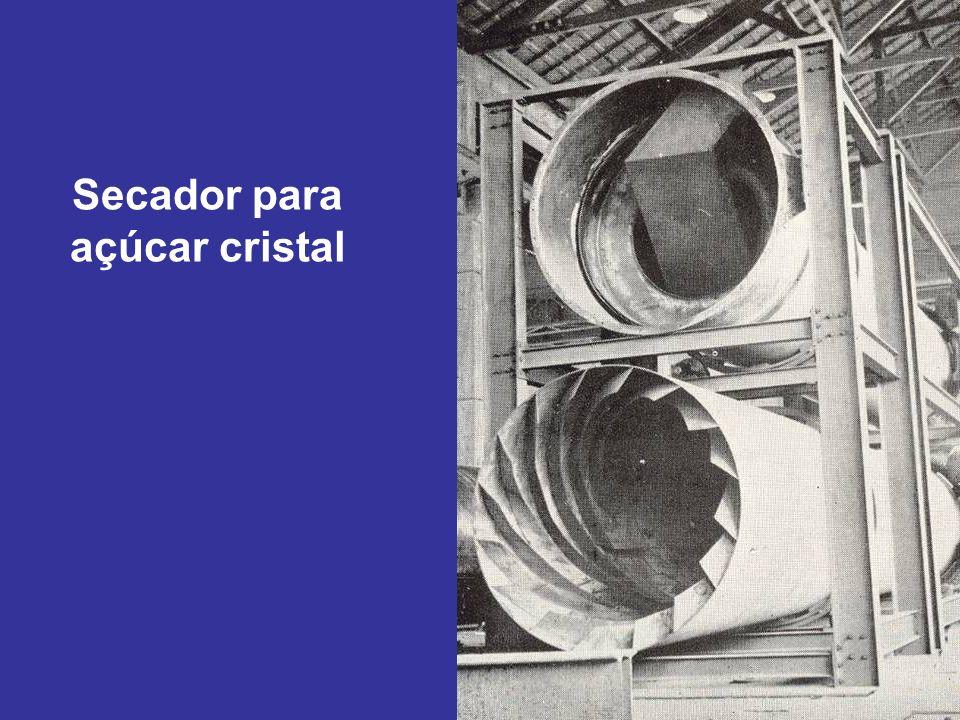 Secador para açúcar cristal