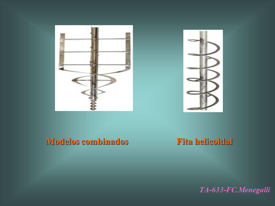 Modelos combinados Fita helicoidal TA-633-FC.Menegalli