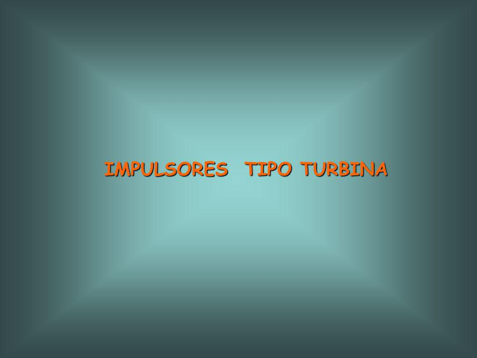 IMPULSORES TIPO TURBINA