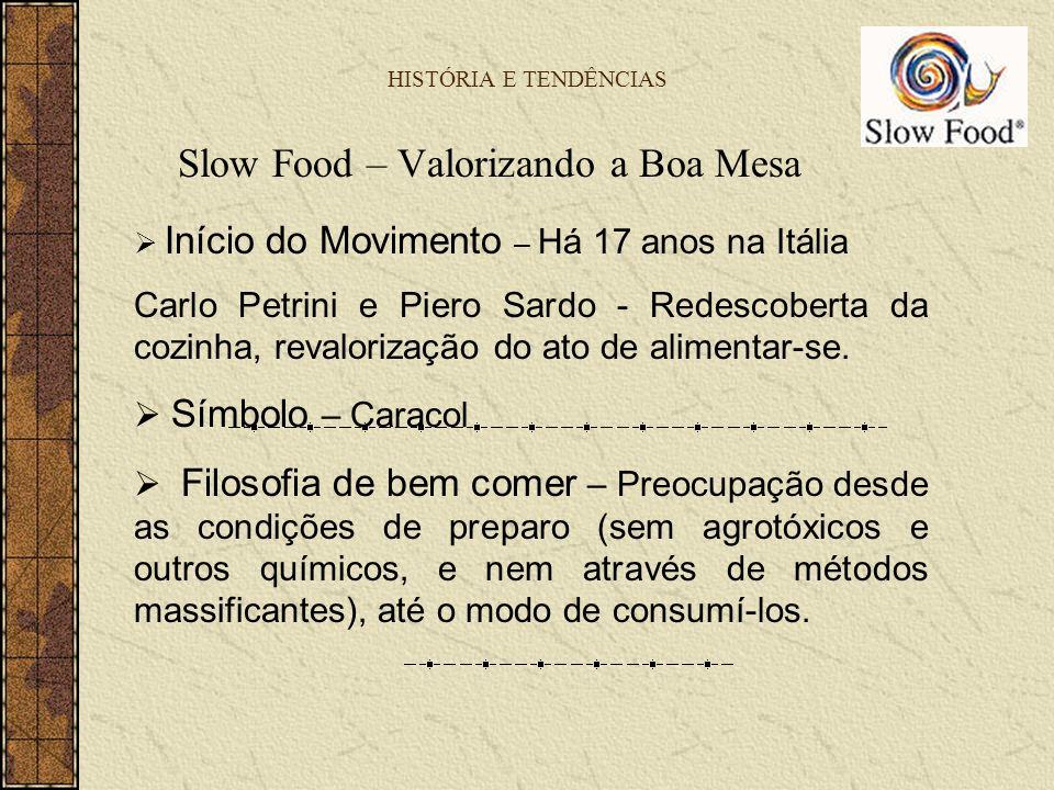 Slow Food – Valorizando a Boa Mesa