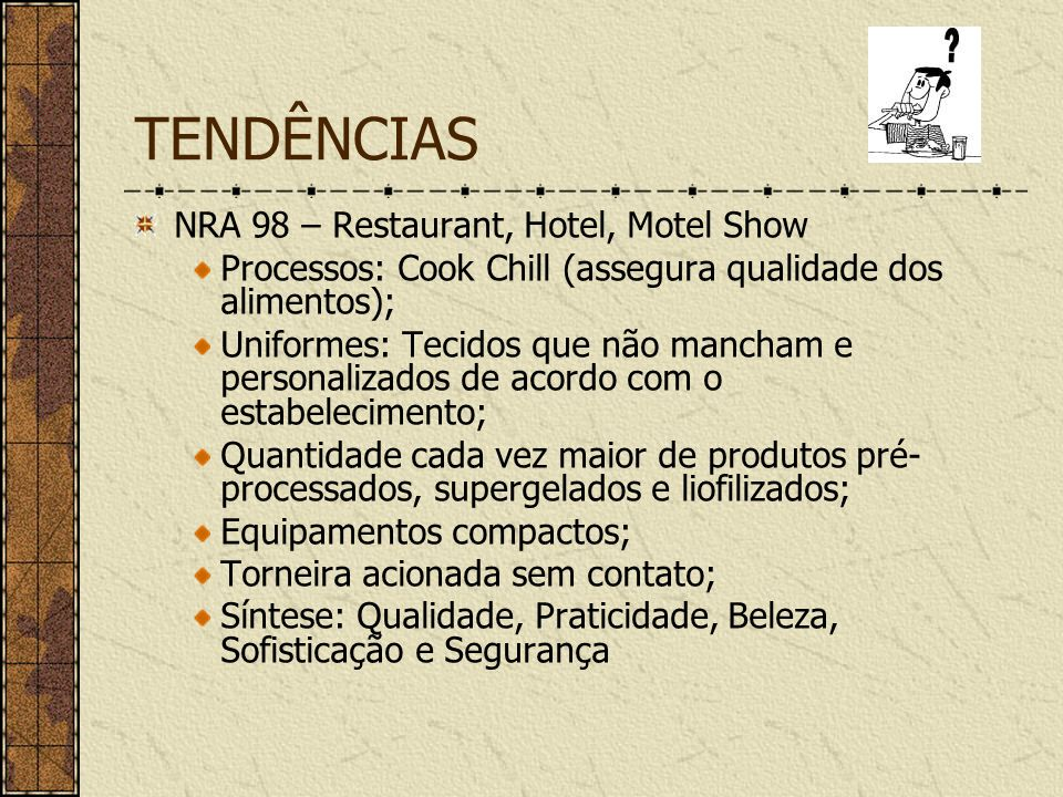 TENDÊNCIAS NRA 98 – Restaurant, Hotel, Motel Show