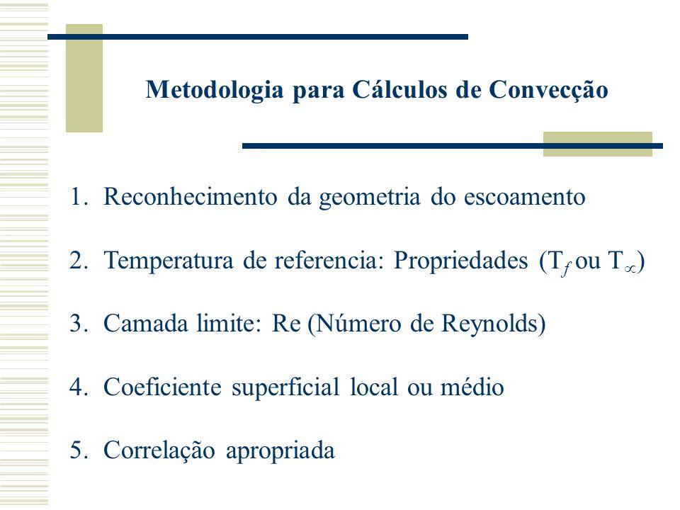 Metodologia para Cálculos de Convecção