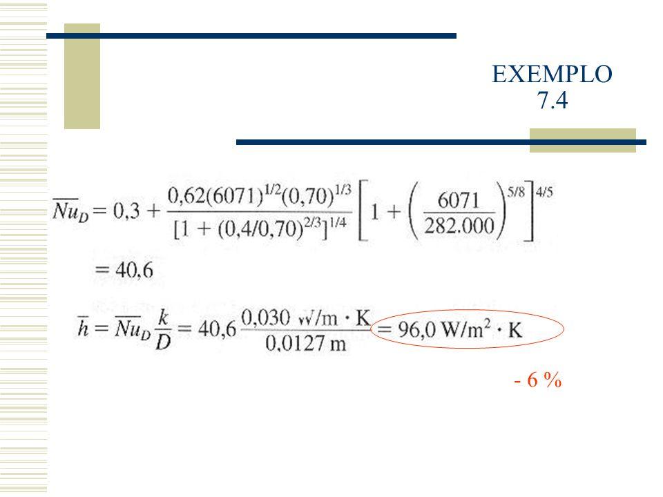 EXEMPLO 7.4 - 6 %