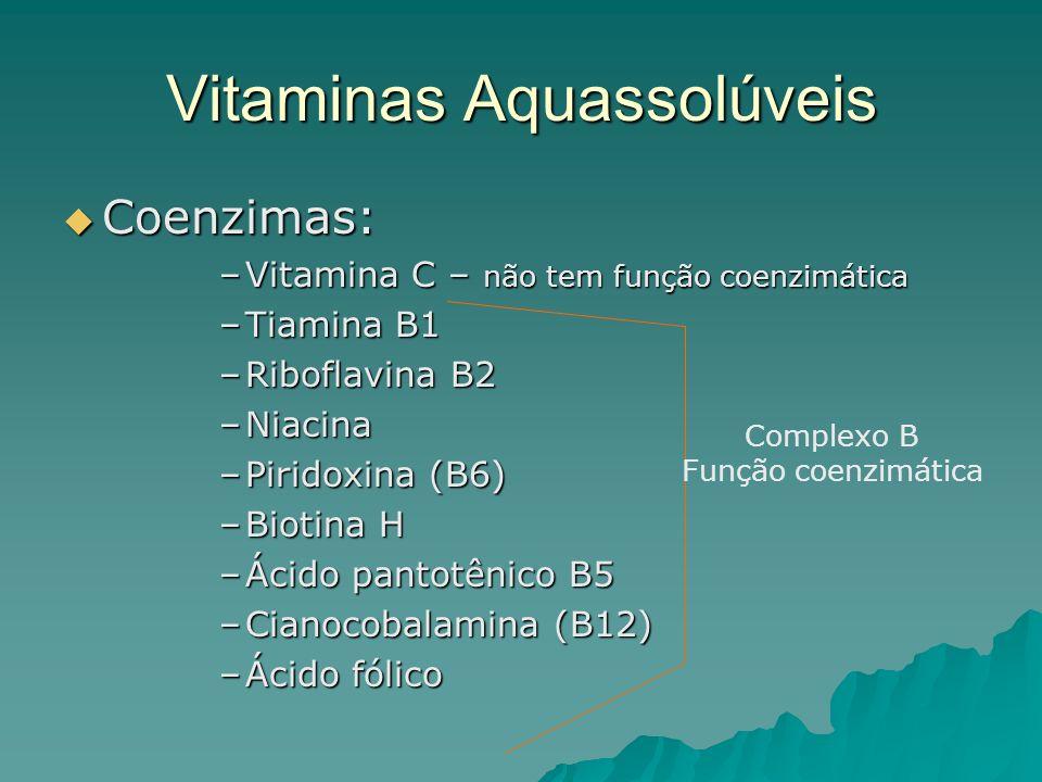 Vitaminas Aquassolúveis