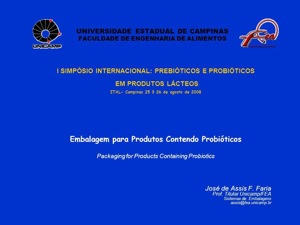 UNIVERSIDADE ESTADUAL DE CAMPINAS FACULDADE DE ENGENHARIA DE ALIMENTOS