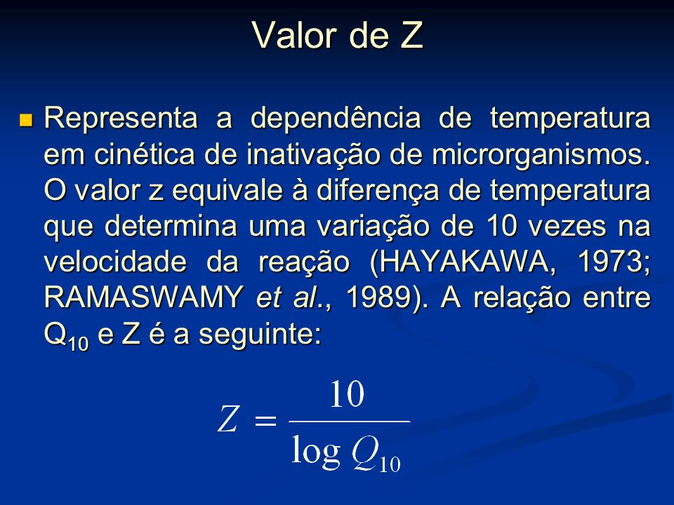 Valor de Z