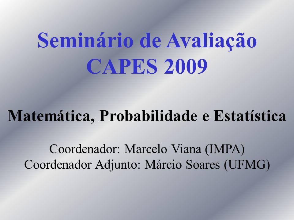Seminário de Avaliação Matemática, Probabilidade e Estatística