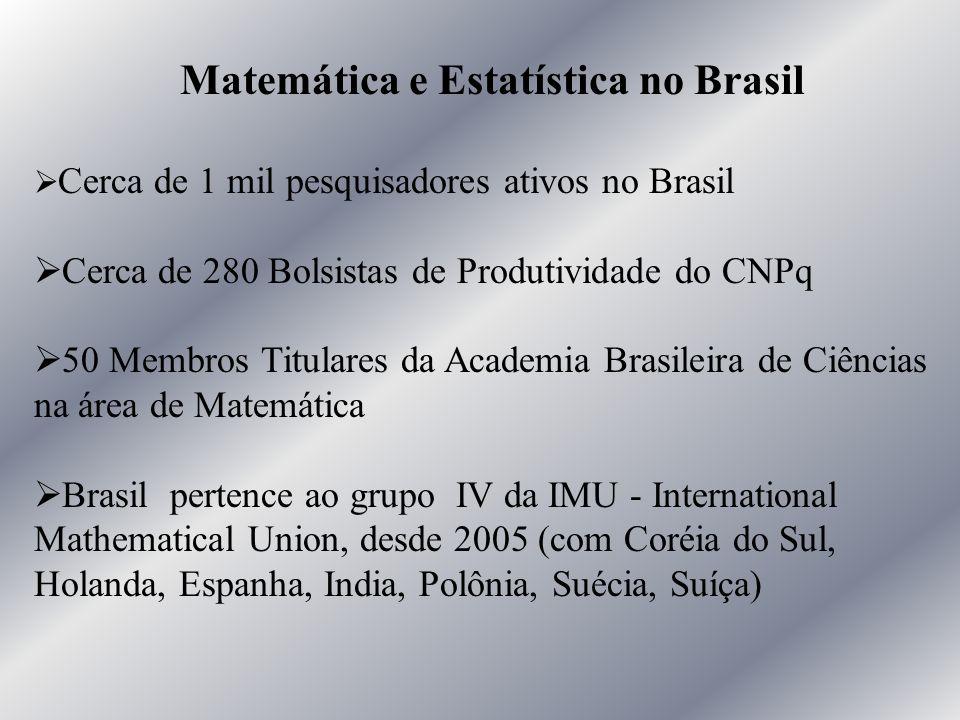 Matemática e Estatística no Brasil