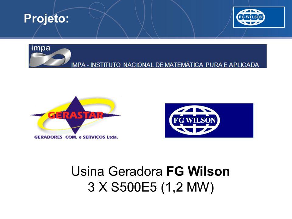 Usina Geradora FG Wilson