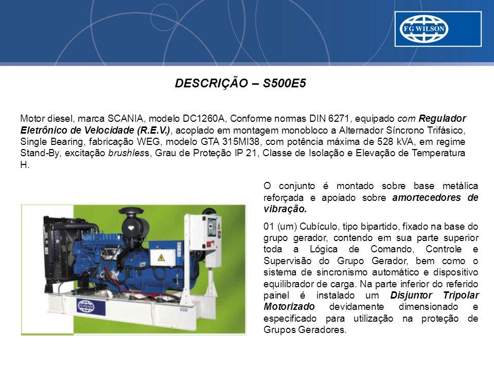 DESCRIÇÃO – S500E5